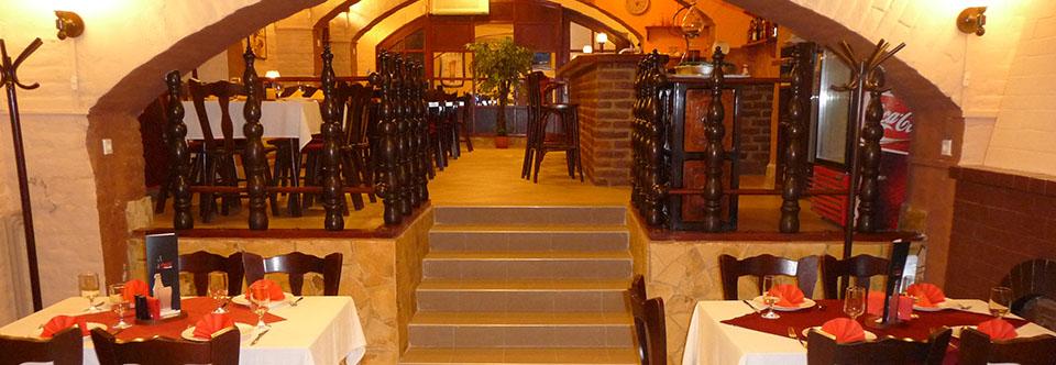 Mátyás pince lépcső
